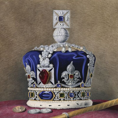 Imperial State Crown von Queen Victoria